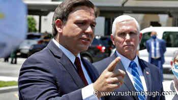 Governor DeSantis Blasts Media, Earns Limbaugh Institute Degree - RushLimbaugh.com