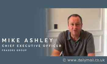 Sports Direct boss Mike Ashley tops up furloughed staff's salaries to 100%