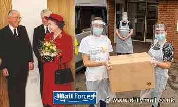 Mail Force follows in royal footsteps as brain injuries home opened by the Queen gets PPE delivery