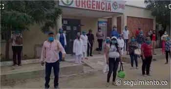 Trabajadores del hospital de Chibolo protestan por pagos atrasados - Seguimiento.co