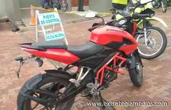 En Cogua recuperan motocicleta que había sido hurtada a otro joven zipaquireño - Extrategia Medios