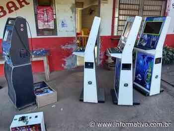 Polícia apreende máquinas caça-níqueis em Lajeado - Infomativo