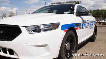 Regina police looking for suspects who stole car at gunpoint, shot at other vehicle - CTV News