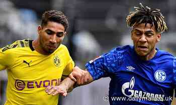 Hakimi's agent confirms defender will return to Real Madrid when his loan deal ends atDortmund