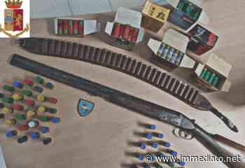 Cerignola, polizia sequestra fucile detenuto illegalmente. Trovate anche cartucce, denunciato settantenne - l'Immediato