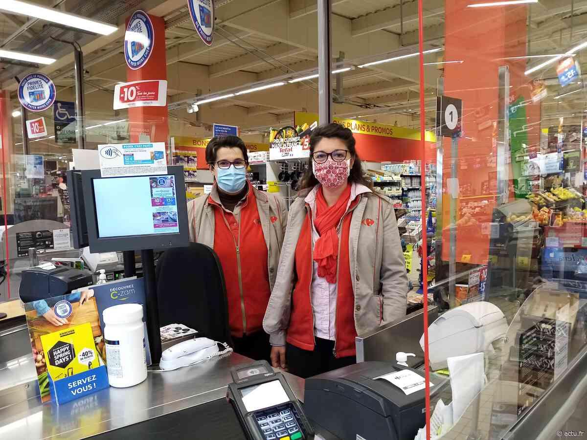 A Domfront en Poiraie, du répit pour le personnel du magasin « Market » le dimanche matin - Normandie Actu