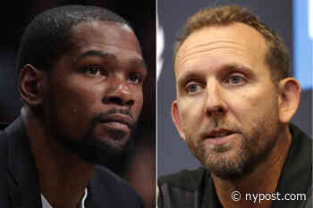 Sean Marks hints Kevin Durant's Nets return not coming anytime soon - New York Post