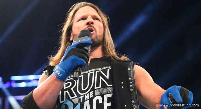 AJ Styles Officially Traded To Friday Night Smackdown