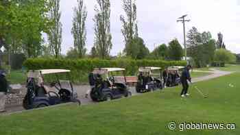 Local golf courses filled to capacity