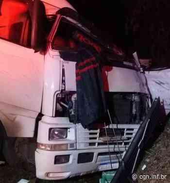 Caminhoneiro morre em acidente na BR-376, em Ortigueira - CGN