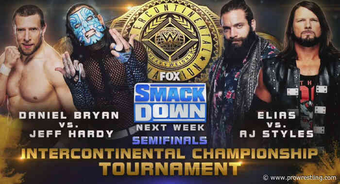 AJ Styles & Jeff Hardy Advance In IC Title Tournament, Semifinal Matches Set