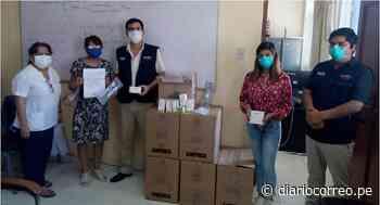 COVID-19: Donan material médico a Hospital de Apoyo Chepén - Diario Correo