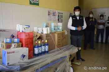 La Libertad fortalece atención a pacientes covid-19 en Hospital de Chepén - Agencia Andina