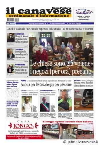 edizione Rivarolo (del 20 maggio) in edicola. Ecco la prima pagina - Prima il Canavese - Il Canavese