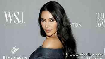 Kim Kardashian Gives Off Major Christina Aguilera Vibes in Bikini and Chaps Quarantine Look - Entertainment Tonight
