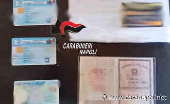 Giugliano in Campania: Uomo trovato in possesso di documenti contraffatti - casanapoli.net