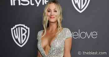 Kaley Cuoco Shows Off Tight Workout Body In Outdoor Yoga Pants 'Hustle' On Instagram - The Blast