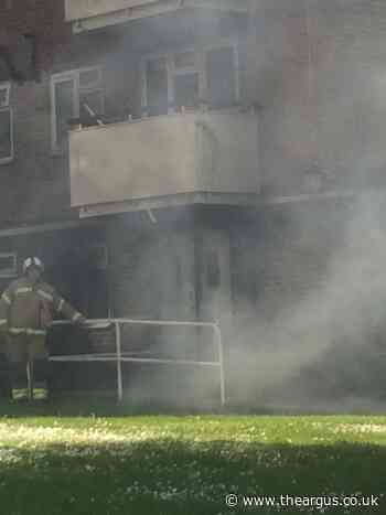 Residents left shaken after fourth fire in Brighton council block