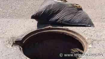 En Navojoa vandalizan alcantarillas ante la falta de vigilancia policial - TRIBUNA