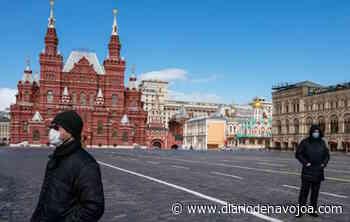 Rusia reporta más de 300 mil casos de COVID-19 - El Diario de Navojoa