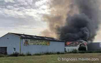 Ploumagoar. Bretagne flocage équipement détruit par les flammes - maville.com