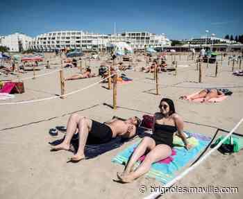 Sur la plage organisée, la bronzette est autorisée - maville.com