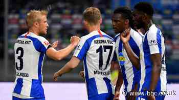 Bundesliga: Hertha thrash Union Berlin in derby
