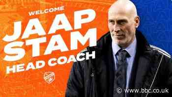 Jaap Stam: FC Cincinnati announce new manager with photo of someone else