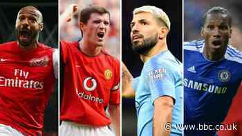 Henry? Keane? Aguero? Drogba? Pick your combined title-winning XI