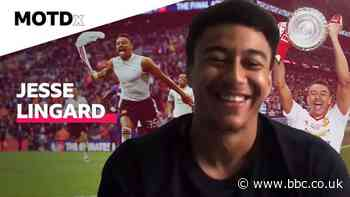 MOTDx: Jesse Lingard on scoring an FA Cup final winner