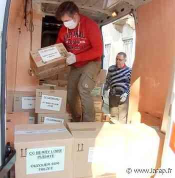 Covid-19 - Des agents de Saint-Ay vont bientôt distribuer 280.000 masques de protection contre le coronavirus dans les communes du Loiret - La République du Centre