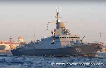 Russian Navy Odintsovo Karakurt-class corvette sailed out to Baltic Sea for running trials - Navy Recognition
