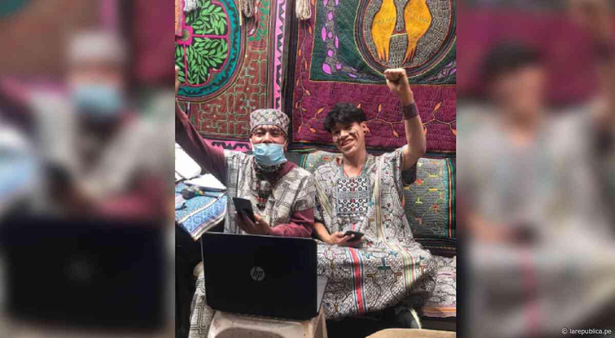 Cantagallo: artistas de la comunidad indígena ofrecen clases virtuales de bordado shipibo - LaRepública.pe