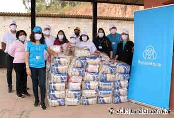 Ação solidária da thyssenkrupp em Campo Limpo Paulista ajuda a levar alimentação e higiene a comunidades durante a pandemia - O Dia Jundiaí