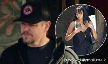 Matt Damon is seen for the first time since revealing his daughter, 21, recovered from coronavirus - Daily Mail