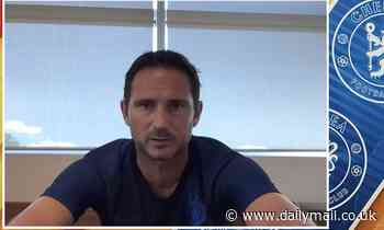 Coronavirus: Frank Lampard claims season should only resume when 'safe and healthy'
