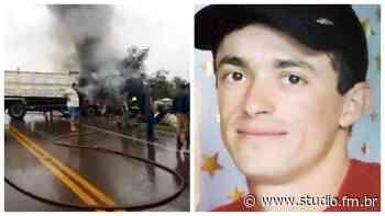 Identificado motorista vítima fatal de acidente na ERS 332 em Espumoso - Rádio Studio 87.7 FM