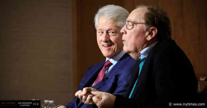 Bill Clinton and James Patterson Are Writing a Second Book Together - The New York Times