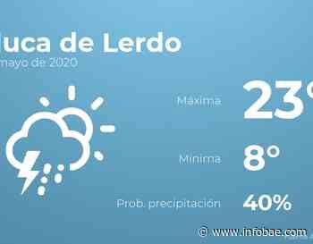 Previsión meteorológica: El tiempo hoy en Toluca de Lerdo, 20 de mayo - infobae