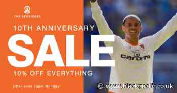 Get 10% Off Online Shop Purchases This Weekend