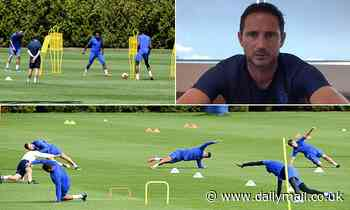 Coronavirus: Frank Lampard claims Premier League season should only resume when 'safe and healthy'