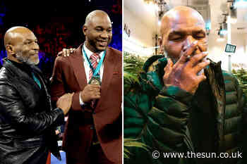 Lennox Lewis follows Mike Tyson as former heavyweight champ invests in legal cannabis farms for medical use - The Sun