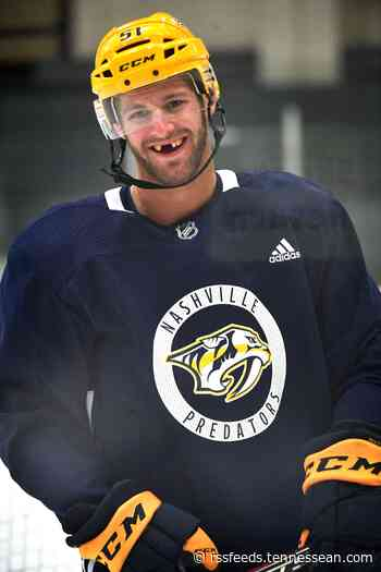 Predators forward Austin Watson doing plenty of playing with NHL season on pause