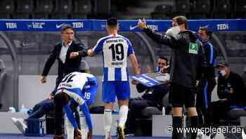 Hertha BSC schlägt Union Berlin - Bruno Labbadia und Vedad Ibisevic stehen dabei im Mittelpunkt