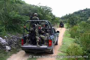 Asume el Ejército la vigilancia en las pequeñas comunidades de #Bacalar por 'narcoavionetas' - Palco Quintanarroense