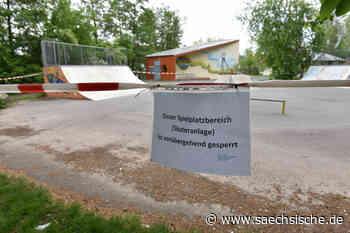 Wegen Müll - Freital sperrt Skaterpark - Sächsische Zeitung