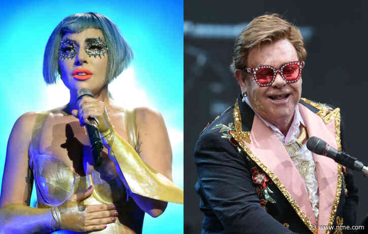 "Lady Gaga says Elton John is ""instrumental"" to her life"