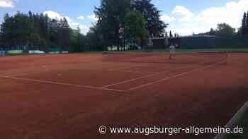 Der Spaß, wieder auf dem Tennisplatz zu stehen - Augsburger Allgemeine