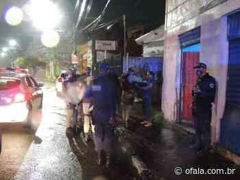Operação de Segurança fecha Bar em Lauro de Freitas - Fala Simões Filho