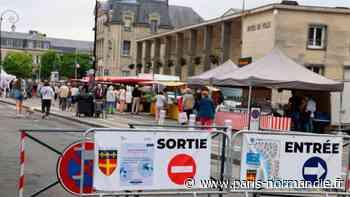 Déconfinement. La nouvelle organisation du marché de Gisors séduit les clients et les commerçants - Paris-Normandie